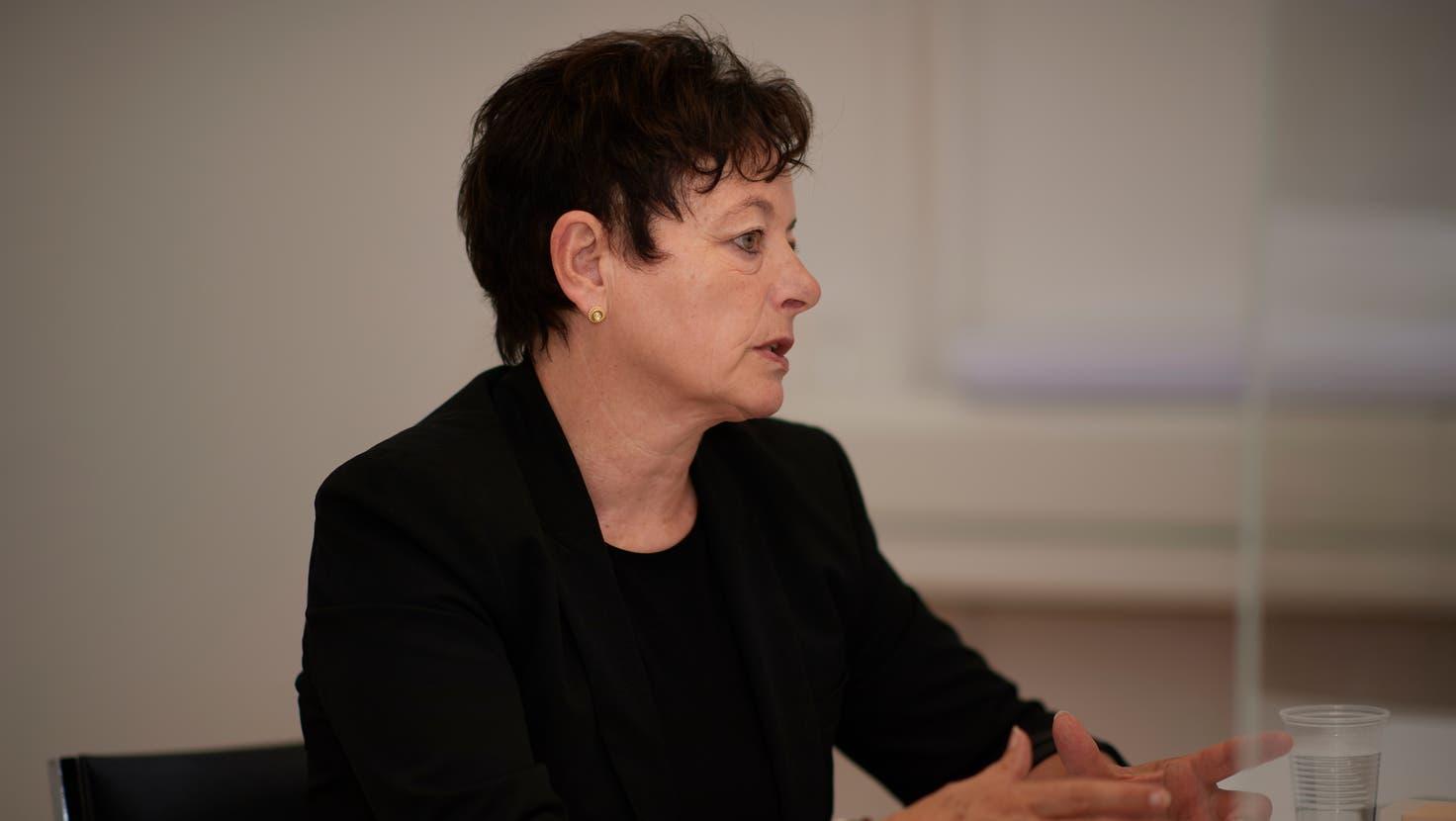 Hilda Heller, Fachexpertin Integration beim Amt für soziale Sicherheit. (Bild: José R. Martinez)