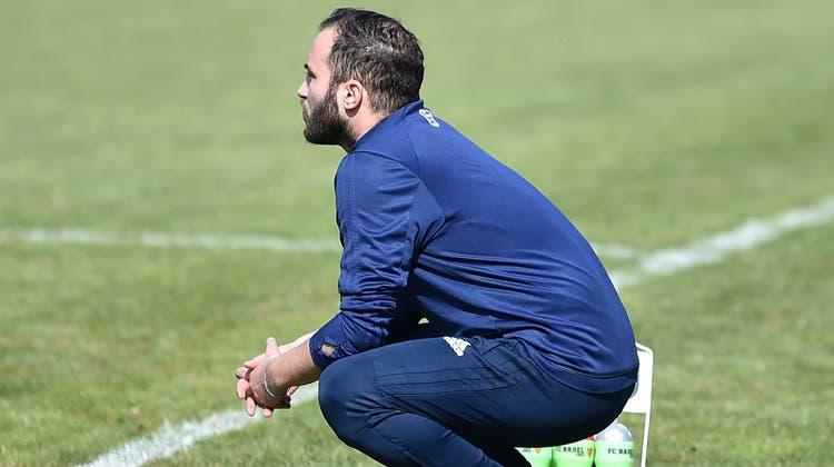 Trainer Alessandro Rizzo und der FC Dulliken sind in der laufenden Saison noch unbesiegt. (Remo Fröhlicher)