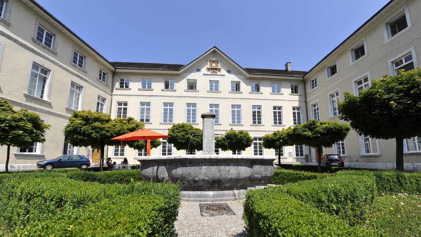 Der Ambassadorenhof Solothurn: Sitz des Departement des Innern von Frau Landammann Susanne Schaffner. (Oliver Menge)