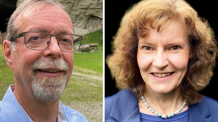 Peter Wiederkehr (Mitte) und Marlène Fehlmann (SVP). (zvg)