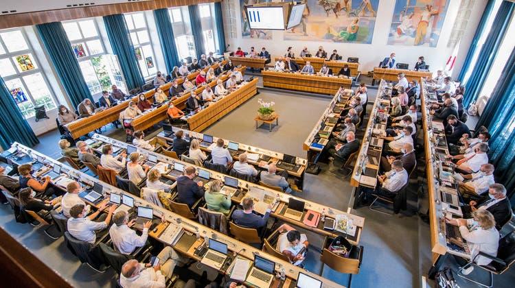 Seit Anfang September tagt der Landrat endlich wieder im Regierungsgebäude in Liestal und nicht mehr im Basler Exil. (Nicole Nars-Zimmer)