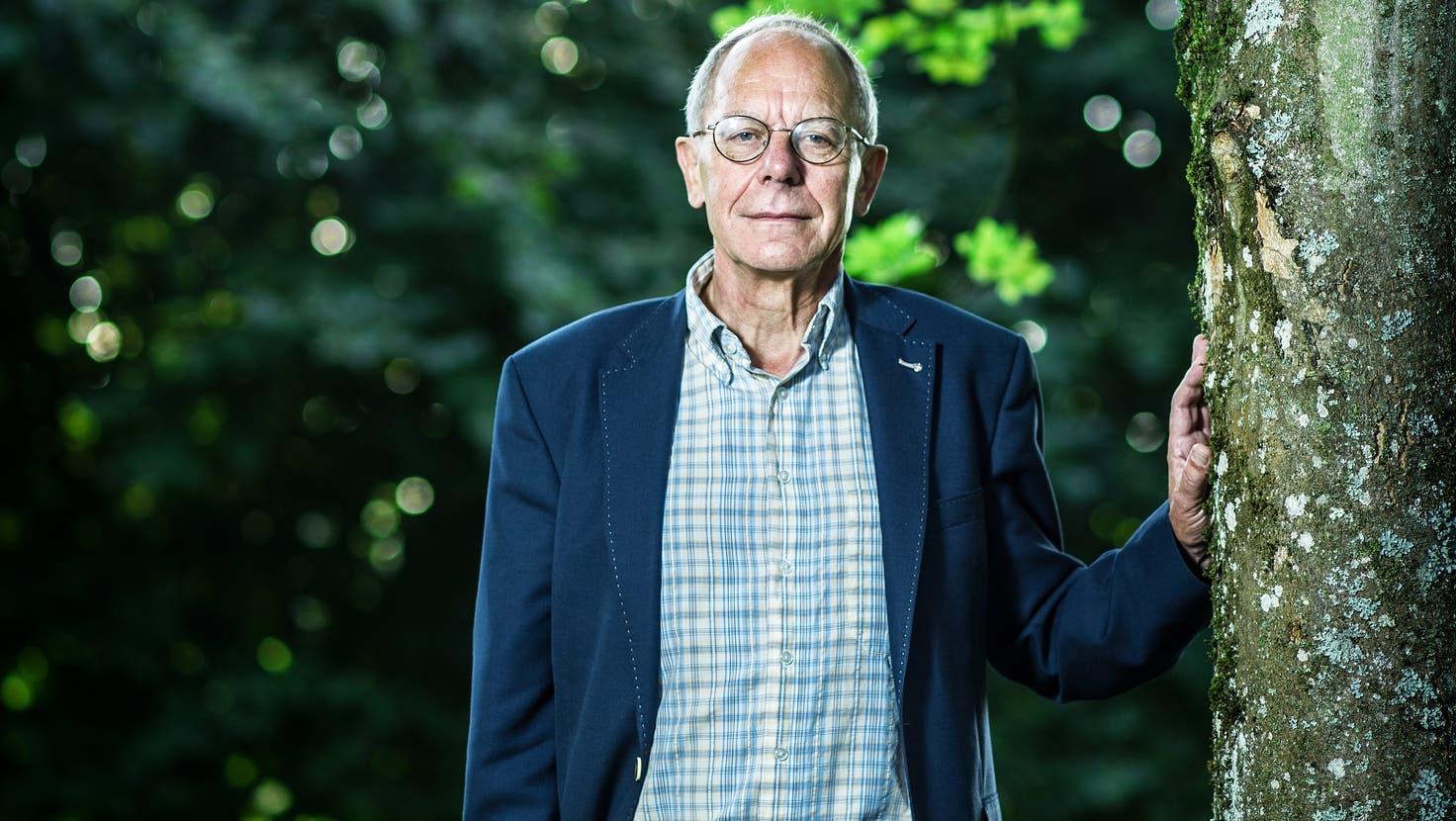 Josef Sachs war bis zu seiner Pensionierung im August 2015 Chef der forensischen Psychiatrie in Königsfelden. (Chris Iseli/ 27. August 2015)