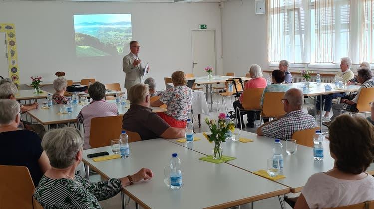 Vortrag von Fritz von Gunten über Jeremias Gotthelf und das Emmental