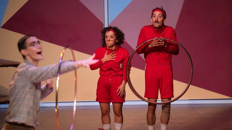 Die Clowns Olivia Swoboda und Stefan Swoboda sind im neuen Programm«Cirque je t'aime!» zu sehen. (Bild: Patrick Hürlimann (Luzern, 15. September 2021))