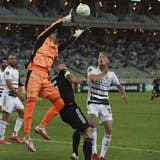 Er ist einer der besten im FCB-Dress: Heinz Lindner. (Aziz Karimov / AP)