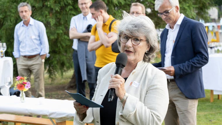 Zum Abschiedvon Brigitta Johner als Präsidentin der Regionale 2025 fand am 9. September in Neuenhof eine Feier statt. (Alex Spichale)