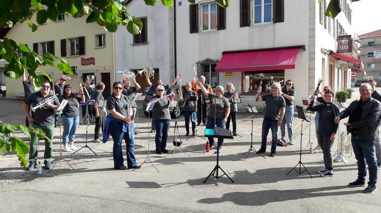 Die Musikgesellschaft Schönenwerd reiste in den Kanton Jura