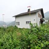 Das Haus an der Dürrenbergstrasse 59 wird abgerissen. Hier kommen zwei der fünf neuen Doppelhäuser hin. (Bruno Kissling)