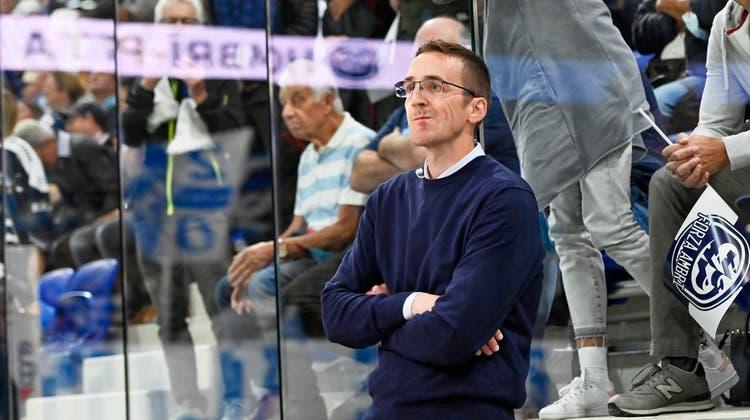 Ambri-Trainer Luca Cereda. (Michela Locatelli/Freshfocus)