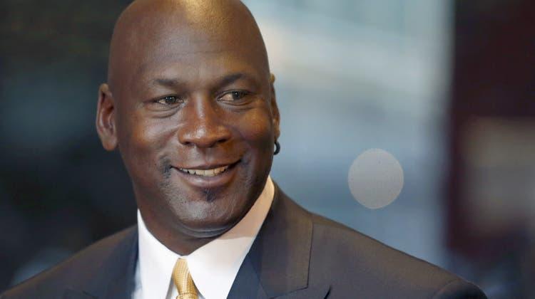 Sportradar-Mitbesitzer: Die US-Basketballlegende Michael Jordan. (Charles Rex Arbogast / AP/AP)