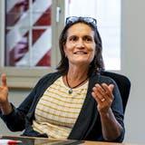 Interview mit Eveline Sprecher. Die Aescher Gemeindepräsidentin äussert sich endlich zum Dom. (Kenneth Nars)