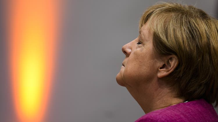 Ruht in sich: Deutschlands Langzeit-Kanzlerin Angela Merkel. (Markus Schreiber / AP)