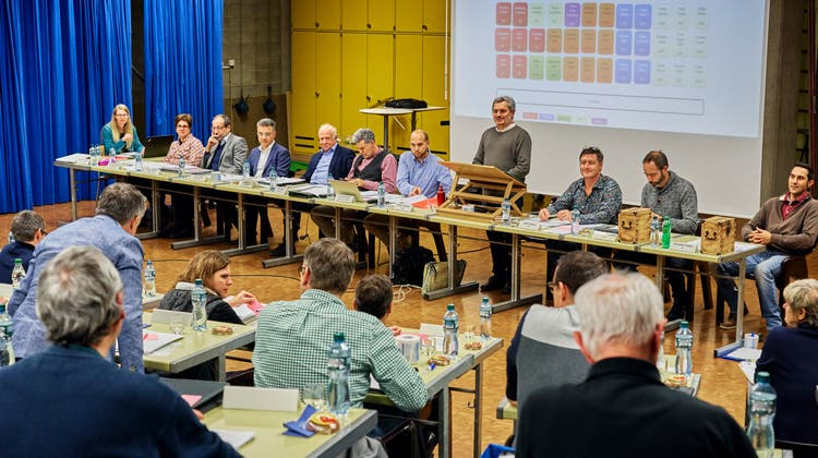 Neu wird die GLP im Einwohnerrat Obersiggenthal sitzen, die SVP muss zwei Sitze abgeben. (Archivbild:28.11.2019) (Colin Frei)