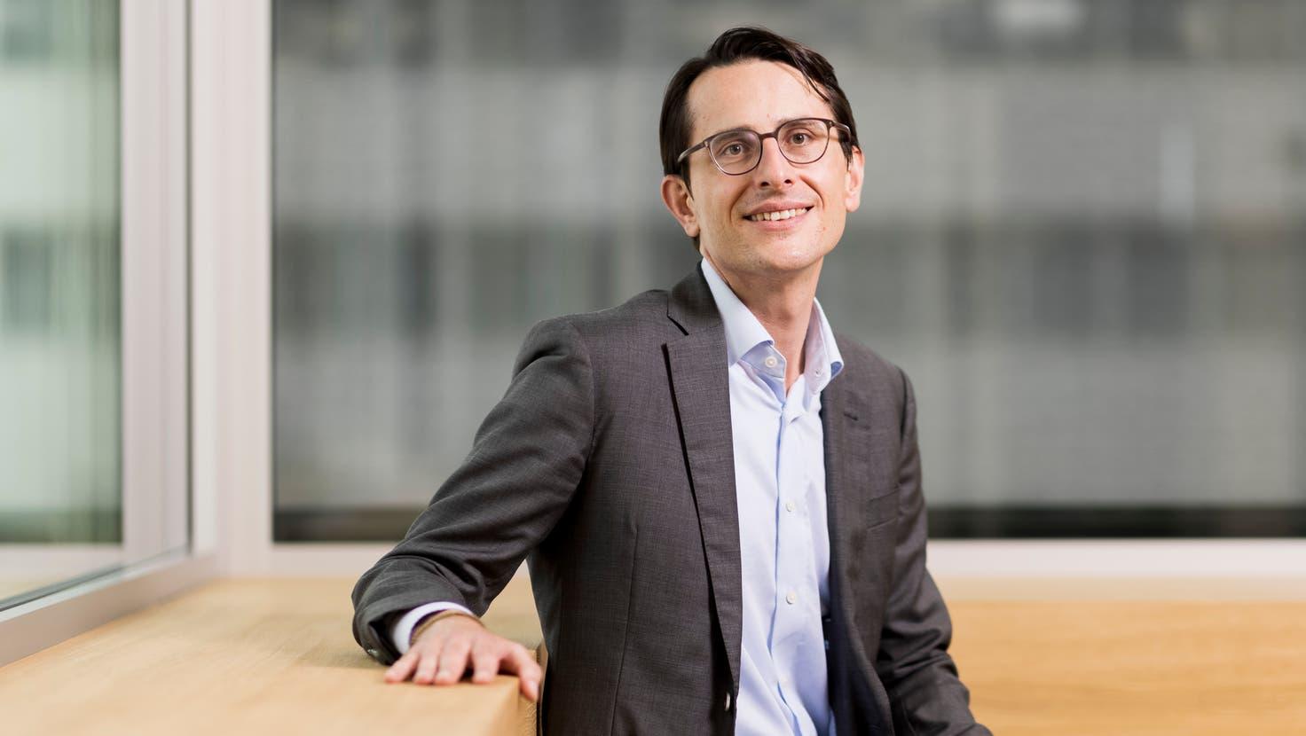 Jörg Duschmalé ist seit eineinhalb Jahren als Vertreter der Erbenfamilien im Verwaltungsrat von Roche. (Severin Bigler)