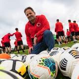 2008 kam er als Spieler zum FC Iliria, bekleidete danach diverse Ämter im Vorstand, seit 2017 ist Rrahim Dakaj der Präsident des Klubs. (Tom Ulrich)
