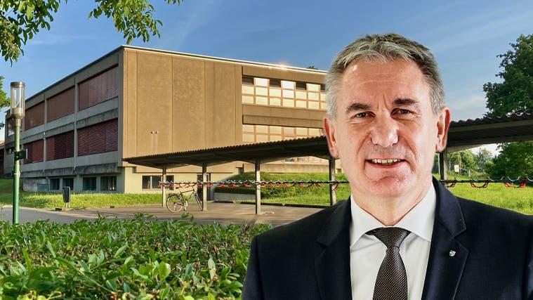Regierungsrat Alex Hürzeler. (9. August 2021) (Chris Iseli)