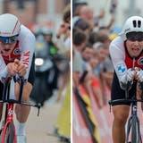 Stefan Küng verpasst bei den Weltmeisterschaften in Belgien im Einzelzeitfahren die Medaillen deutlich. (Freshfocus)