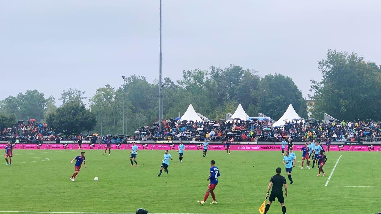 David gegen Goliath: Kann der FC Rorschach-Goldach dem FC Basel im Cup ein Schnippchen schlagen?