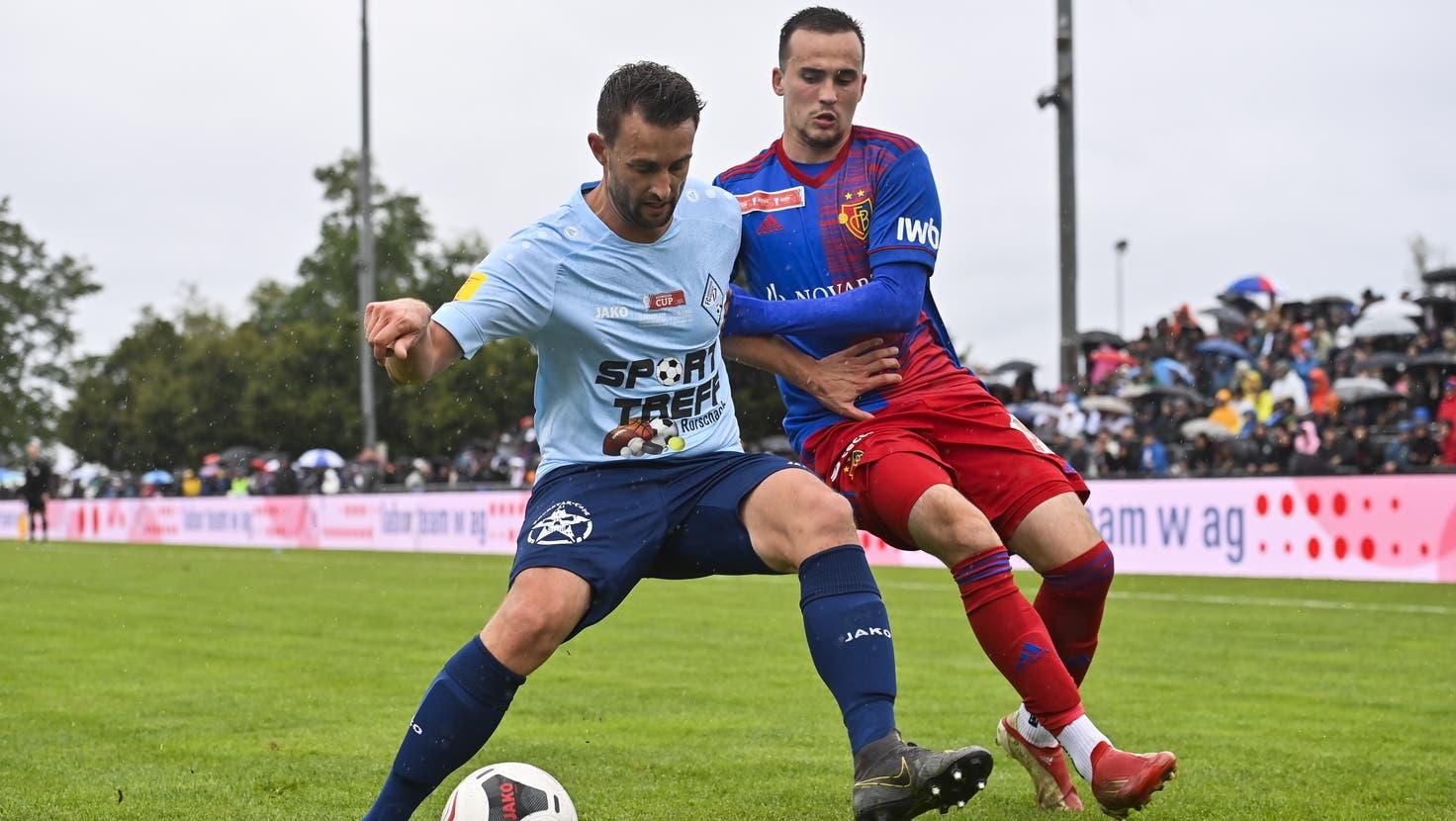 Der FCB gewinnt mit 3:0 gegen den FC Rorschach-Goldach und qualifiziert sich für die Achtelfinals des Schweizer Cups