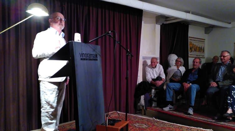 Die Zuhörer dürsten nach einer literarischen Zugabe