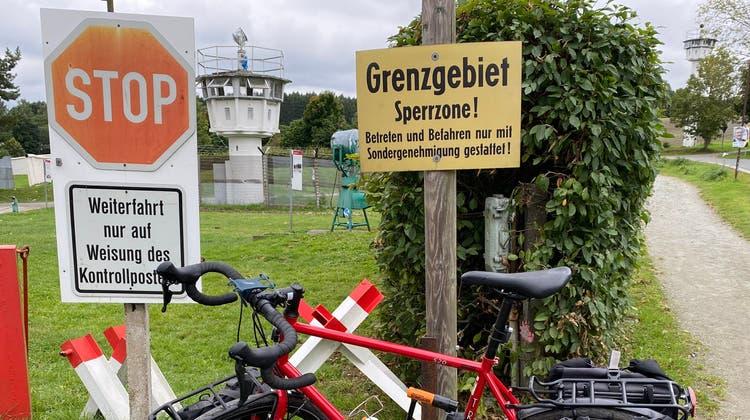 Heute ein Museum: Überreste von Grenzanlagen in Mödlareuth. (rit)