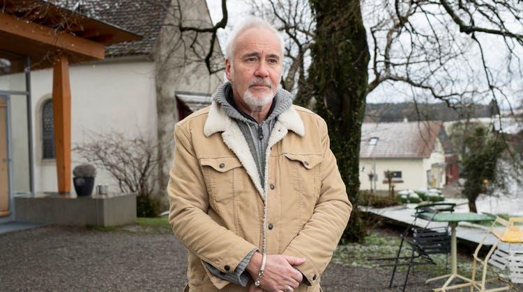Schriftsteller Hansjörg Schertenleib. (Alex Spichale / KUL)