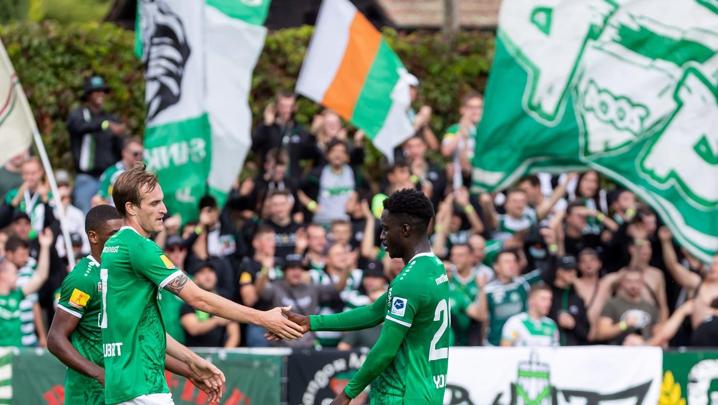 Der FC St.Gallenschiesst sich mit einem 7:2 bei Chênois in die nächste Cuprunde – dort wartet der FC Chiasso