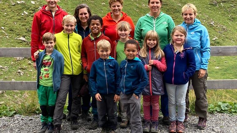 Naturfreunde Obergösgen Familienweekend in der Geltenhütte