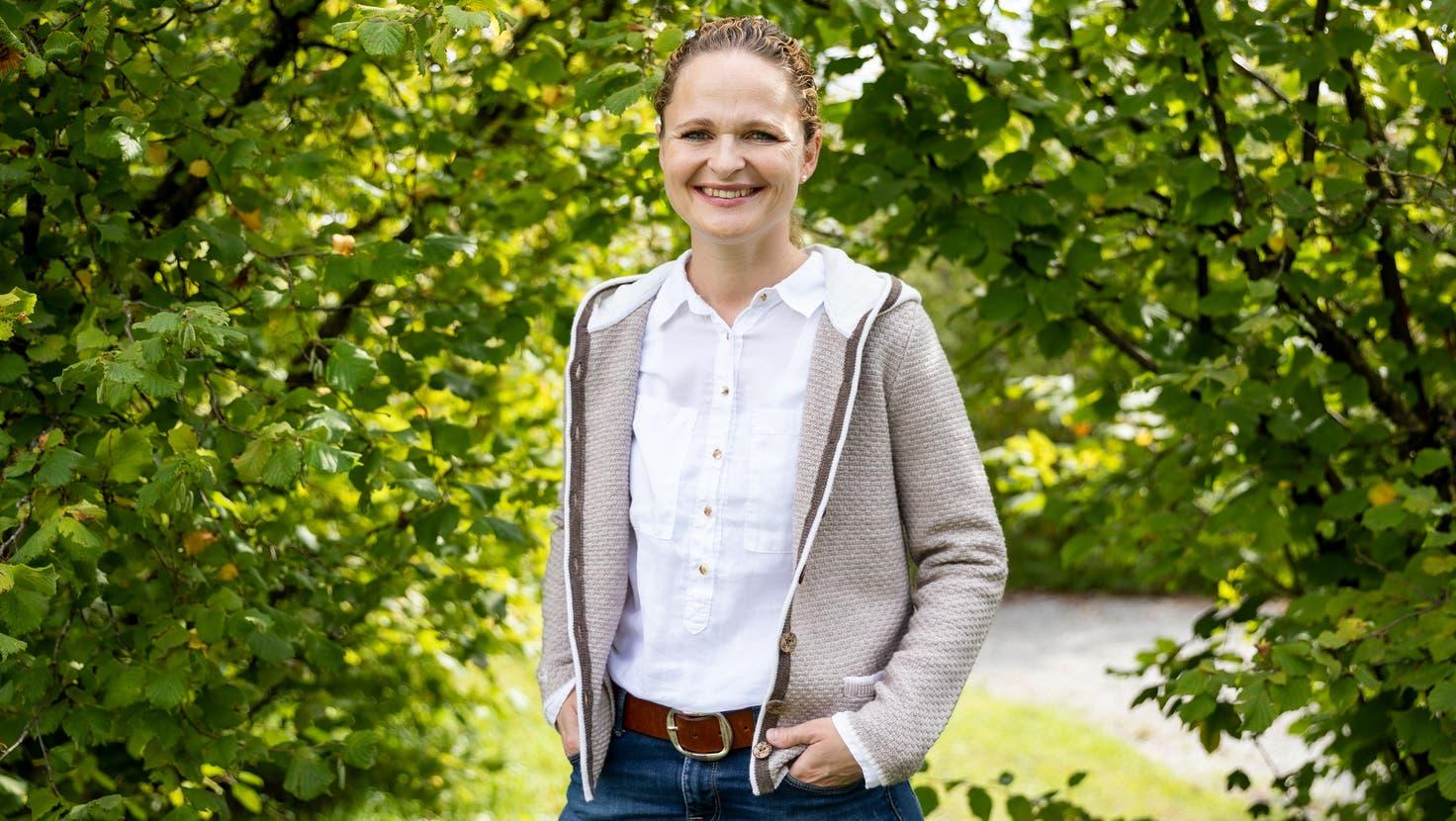 Gesund und glücklich: Michelle Hug lebt seit bald zehn Jahren mit einem Spenderherz. (Valentin Hehli / MAN)
