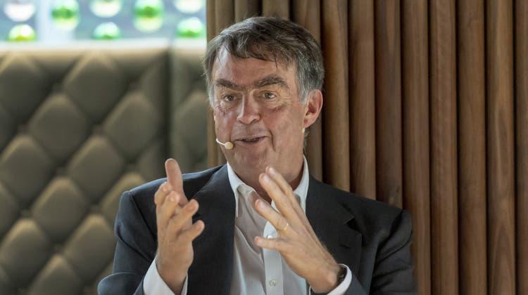 Gemäss André Hoffmann ist dieVermögensverteilung in der Schweiz besser als in allen anderen OECD-Ländern. (Bild: Keystone)