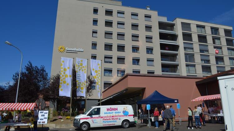 Neu eingeweiht: Das Seniorenzentrum Sunnhalde in Untersiggenthal. (Irene Hung-König)