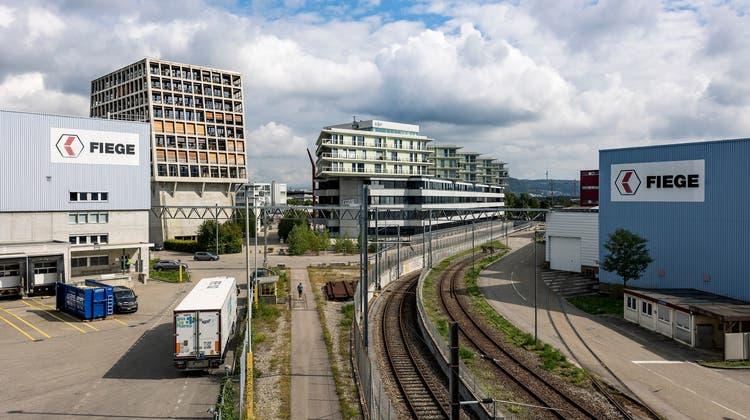Das Dreispitzareal, wo sich die Wirtschaftswissenschaftliche Fakultät und Juristische Fakultät der Universität Basel ansiedeln sollen. (Kenneth Nars)