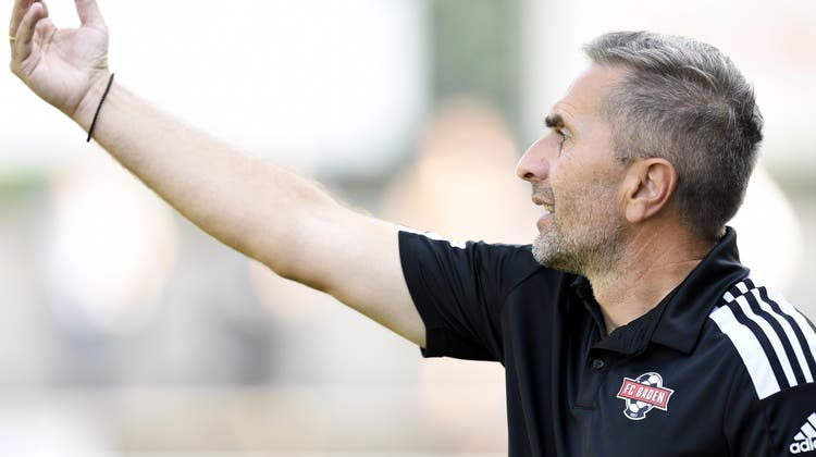 Zufrieden mit seinen Spielern:Badens Trainer Ranko Jakovljevic. (Alexander Wagner)
