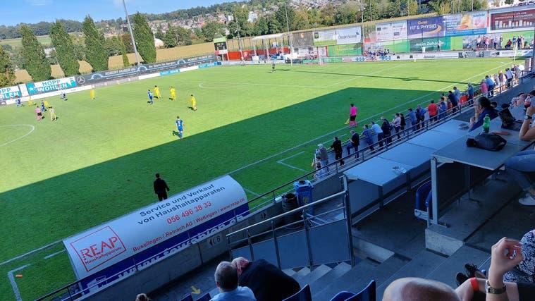 Der FC Wohlen zeigte gegen die Gegner aus Bassecourt eine überzeugende Leistung. (Bild: Benjamin Netz)
