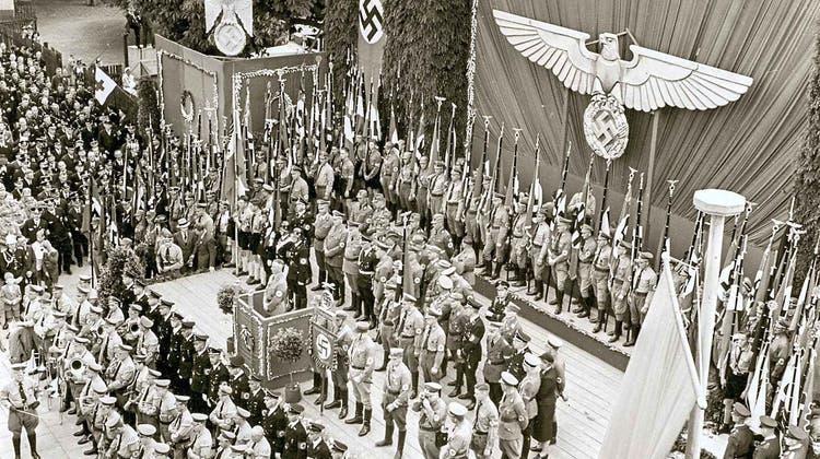 Eine Fotoaufnahme desKreistags der NSDAP in Lörrach vom 18. Juni 1939. (zvg)