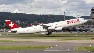 Sorgen so genannte «Vaccinated Travel Flights» bald für mehr Reiseoptionen für geimpfte Passagiere? (Ennio Leanza / KEYSTONE)