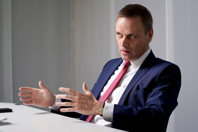Regierungsrat Jean-Pierre Gallati will einen kantonalen Flickenteppich möglichst verhindern.
