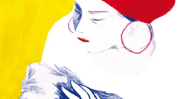 Anisa Alrefaei Roomiehnach der Geburt ihrer ersten Tochter. (Maeva Rubli/Edition Moderne)