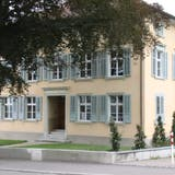 Das «Haus der Musik» in Bischofszell an der Steigstrasse. (Bild: Barbara Hettich (Bischofszell, 2. September 2021))