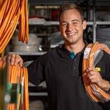 Elektroinstallateur Simon Koch freut sich auf die Teilnahme an den Euro Skills. (Chris Iseli)