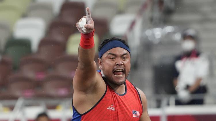 Muhammad Ziyad Zolkefli wurde die Goldmedaille aberkannt. (Eugene Hoshiko / AP)