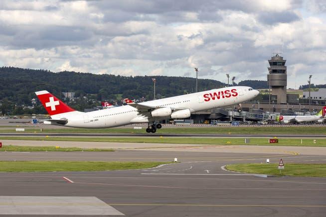 Die Fluggesellschaften leiden immer noch unter dem Passagierrückgang.