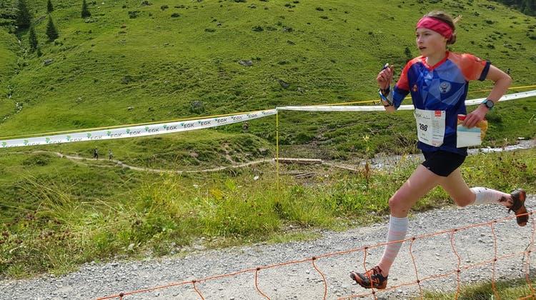 Alles im Griff: Leonie Mathis läuft gleich zwei Mal auf das Podest