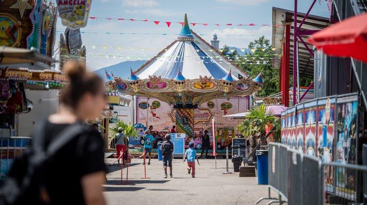 Kleiner Trost: Positive Bilanz im Chilbi-Park in Zuchwil – trotz wenig Einnahmen