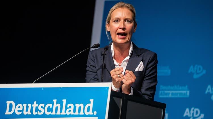 Gegen Alice Weidel von der AfD wird nicht mehr ermittelt. (Keystone)