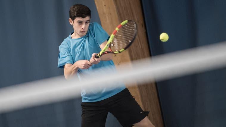Der 19-jährige Yanis Moundir spielt mit Meggen um den Aufstieg. (Pius Amrein  (lz) / Luzerner Zeitung)