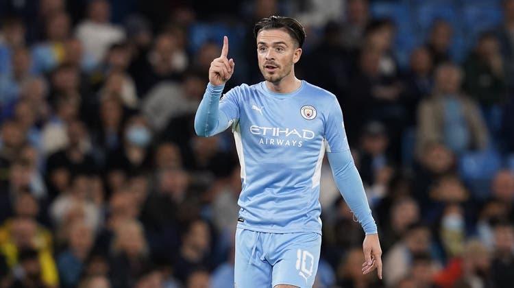 Für Jack Grealish zahlte Man City117,5 Millionen Euro an Aston Villa. (Andrew Yates / EPA)