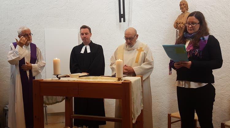 Jubiläumsgottesdienst 40 Jahre Bergkapelle Weissenstein. (Zvg)