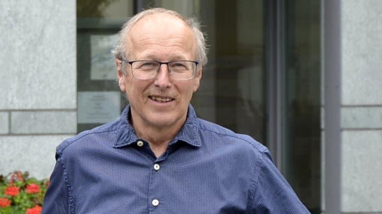 Peter Stirnemann (67, parteilos) will in Gränichenseine zweite Amtsperiode als Gemeindeammann antreten. (Ueli Wild (24.3.2017))
