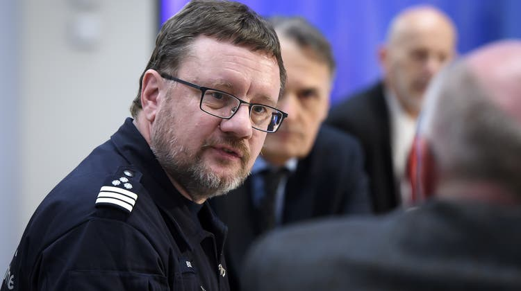 Christian Bock,Direktor der Eidgenössischen Zollverwaltung. (Keystone)